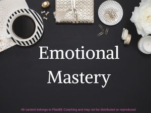 Mastering Emotions Class